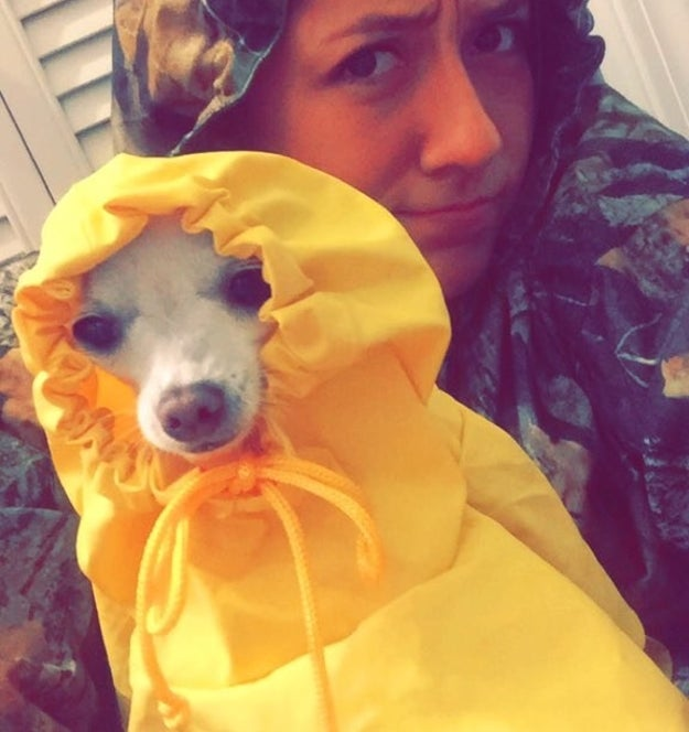 Meet 21-year-old Marissa Hooper and her 2-pound chihuahua Dixie. They're from Texas.