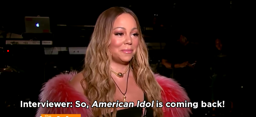 Well, she was recently asked what she thought about the American Idol reboot.