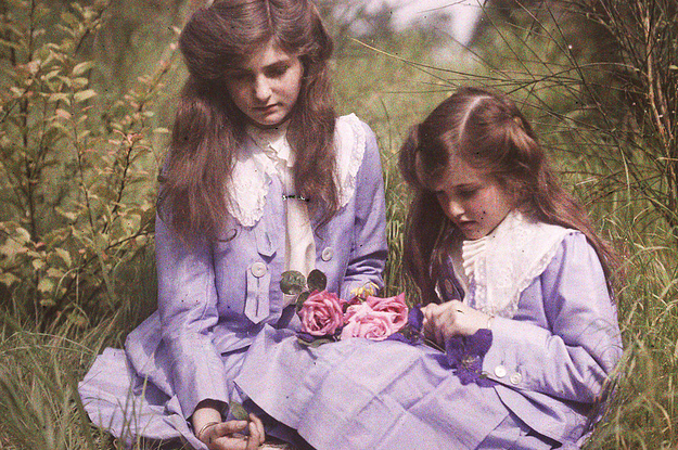 23 Of The Oldest Color Photos Ever Taken