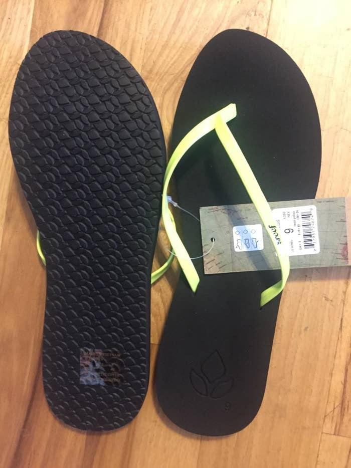64d47ca306c5  quot Singin  x27    x27 I love these flip-flops