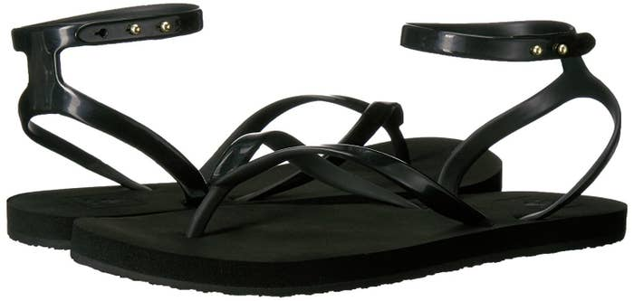 3ed9a4825284 Flip-flops trying to disguise themselves as fancy sandals. And honestly