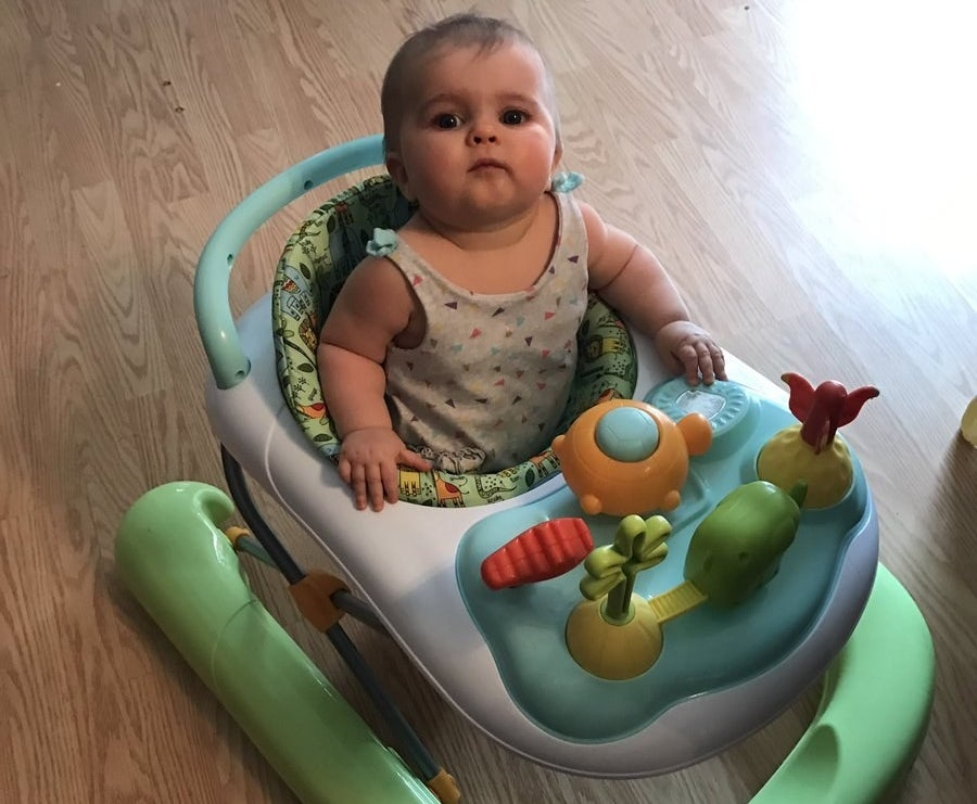 """""""Every time I walked I heard the little rollers coming behind me,"""" Jordyn said. """"And I'd turn around and she was side-eyeing me to the extreme."""""""
