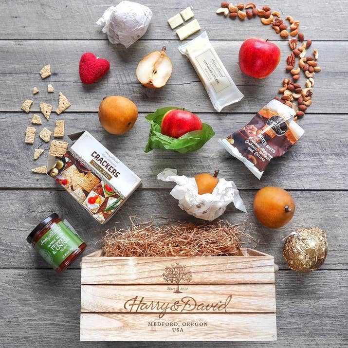 20 of the best places to order gift baskets online one look at a harry david gift basket or crate and you know that the sender has their shit together or is very good at pretending solutioingenieria Image collections