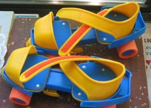 plastic skates