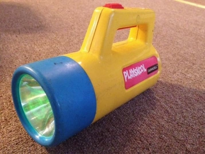 playskool flashlight
