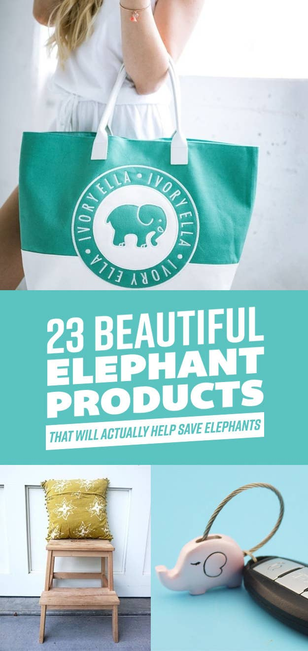 ce53780498c3 23 Adorable Products That Support Elephant Conservation