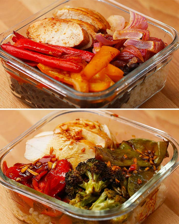 This One-Pan Chicken Meal Prep Is Perfect For Summer