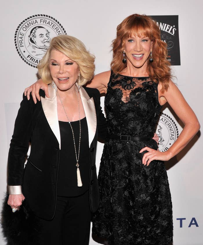 Kathy Griffin's Gaffe Proves She Doesn't Know What's Funny