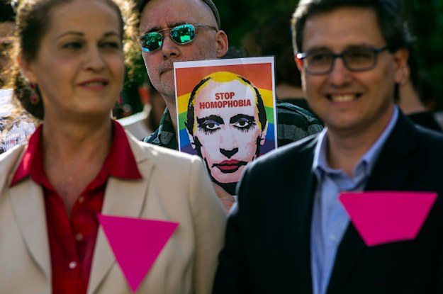"Russia's ""Gay Propaganda"" Ban Violates International Law, Top Human Rights Court Rules"
