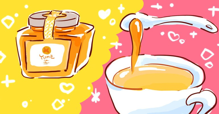 紅茶専門店ルピシアでは、紅茶の香りのはちみつ「ティーハニー」が販売されています。上質なはちみつと、ルピシアの茶葉を使用して作られた、ルピシアオリジナルのはちみつです。