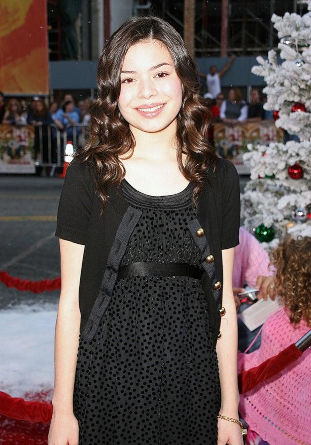 Miranda Cosgrove in 2007.