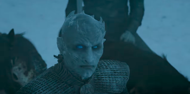 We also see more of the Night King and his armies on the move, which doesn't bode well for anybody on the opposite side of the wall, TBH.