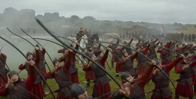 And it certainly looks like we'll see fighting everywhere, based on the trailer. We see Jamie Lannister overseeing a group of Lannister archers.