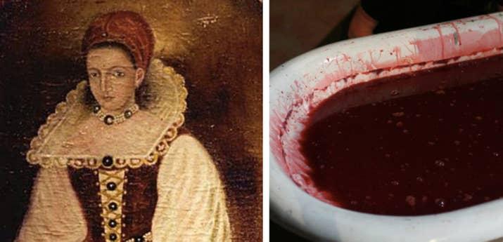 """También conocida como """"La Condesa Sangrienta"""" en la década de 1600, Báthory es a menudo citada como la asesina serial más prolífica DE TODA LA HISTORIA. Mató a más de 650 mujeres jóvenes con la ayuda de otras cuatro personas, y se bañó en la sangre de las víctimas para mantenerse joven. ¡Santo cielo!—cardanella"""