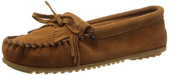 Minnetonka moccasins carry wide sizes if you need a little more breathing  room. 482227b86