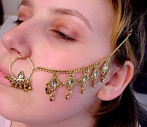 """The tradition of giving a ring in exchange for marriage originated from Judaism when Eliezer of Damascus gave Rebecca a """"golden nose ring."""" Rebecca was obviously really hot. And no, it wasn't an actual nose ring, but that would have been hilarious. The ring was given in order to place """"claim"""" on the woman in the interum period from engagement to marriage. WTF."""