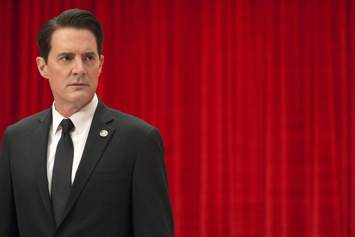 Kyle MacLachlan as Agent Dale Cooper in Twin Peaks.