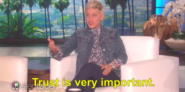 So in case you missed it, things got REEEEEEEAL AWKWARD on Ellen last week, when Ellen DeGeneres caught one of her audience members stealing, like, a whole lotta stuff from her show's gift shop.