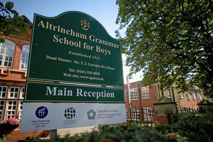 """The Conservative manifesto said there would be: """"More good school places, ending the ban on selective schools and asking universities and independent schools to help run state schools.""""The Queen's Speech, by contrast, said: """"My government will continue to work to ensure that every child has the opportunity to attend a good school and that all schools are fairly funded.""""Crucially, the speech contains no plans to introduce legislation to end the ban on new grammar schools – a widely expected U-turn."""
