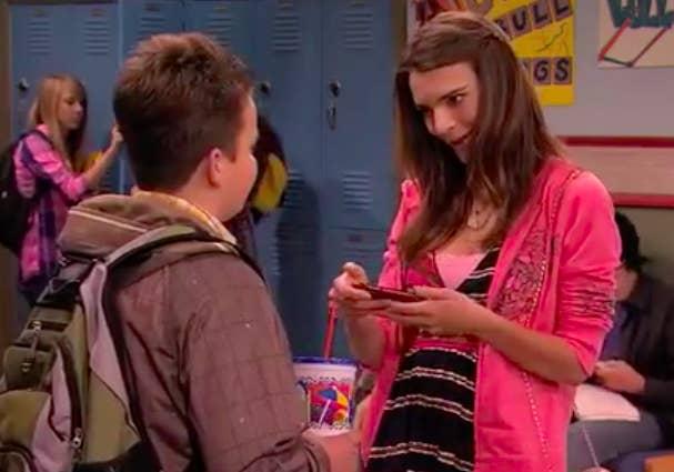 Wait, Wow, SHE Was Gibby's Girlfriend On iCarly?