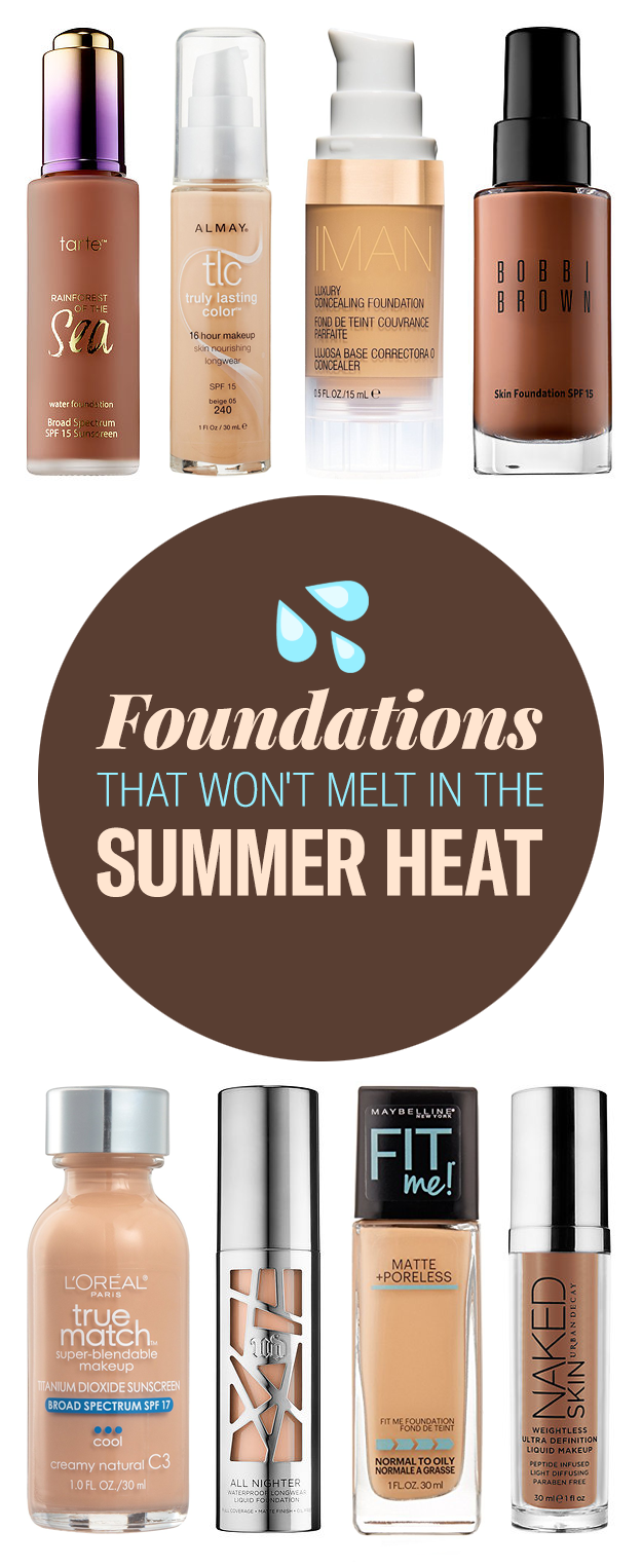 20 Amazing Foundations That Won T Melt In The Heat