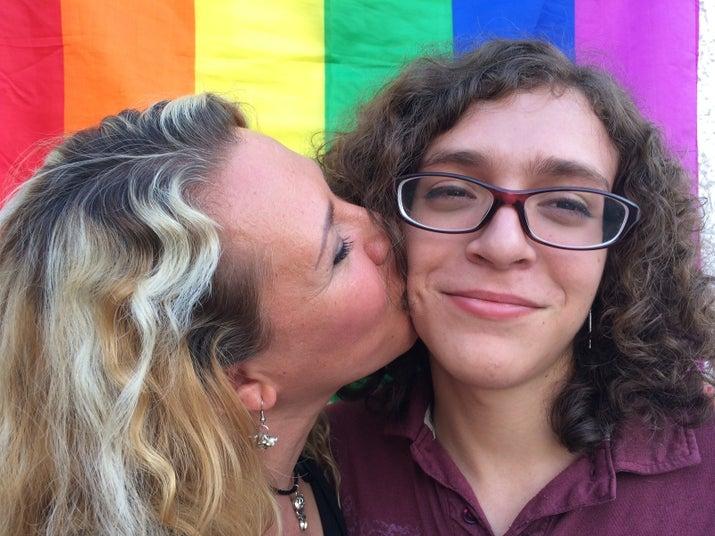 """Mi linda hija trans"", dice Rocío."