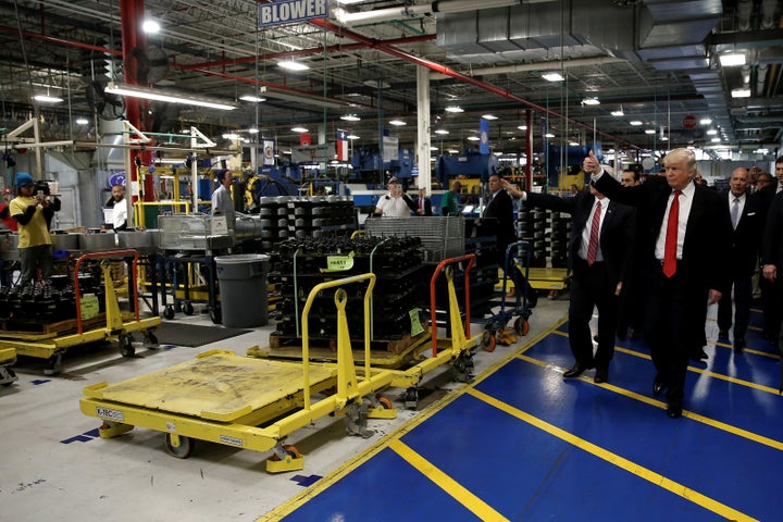 But despite Trump's claims, Carrier revealed last month that it was cutting about 632 jobs from the Indianapolis factory.