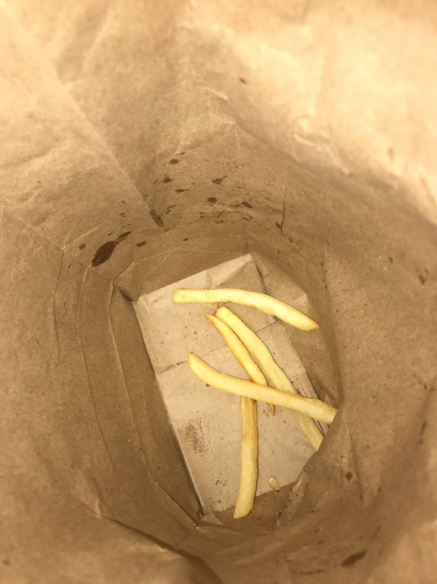 The tastiest chips are the ones you find left over in the bottom of the bag.