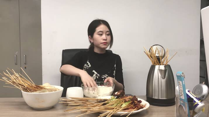 """""""I love food too much,"""" she said. """"But if I really had to pick a favourite dish, it would probably be hot pot, which I've made twice already haha."""""""