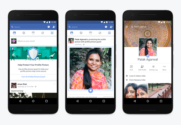 In a blog post published on Wednesday, Facebook said it came up with the feature after the company's research found that some women in India didn't share profile pictures with faces because they were concerned they might be misused.