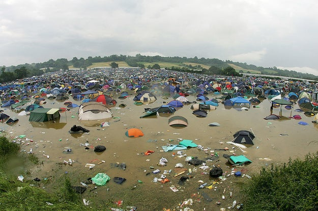 They're a double kind of dirty: They're full of actual dirt, but also the debris of several thousand drunk humans and far too few toilet facilities.