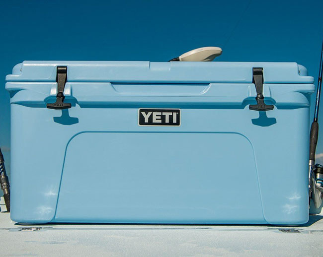 or invest in a super tough yeti tundra 65 cooler that is extremely roomy and features three inches of permafrost insulation to keep ice