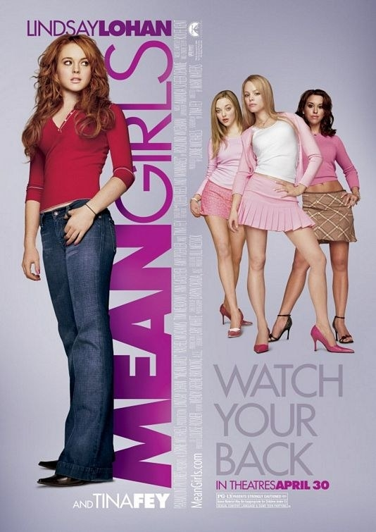 But I can't for the life of me figure out how this scene in Mean Girls was filmed.