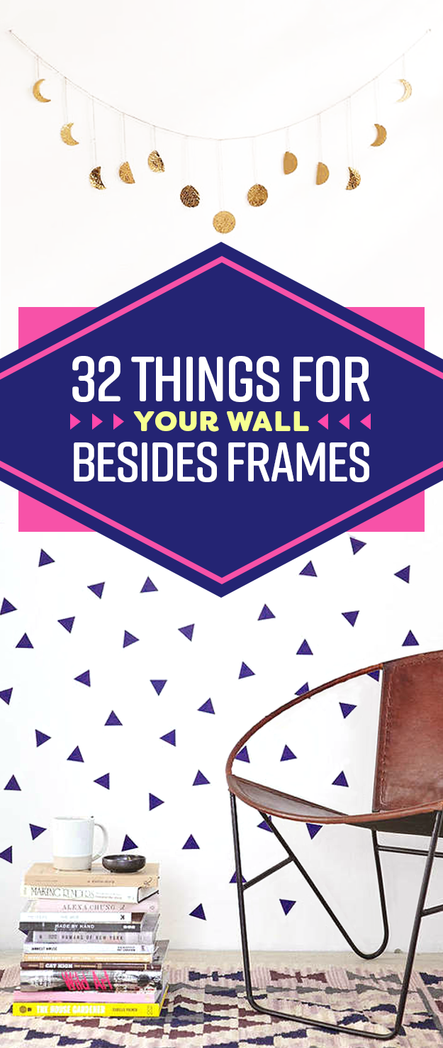 32 unique pieces of decor you u0027ll want to have on your walls asap