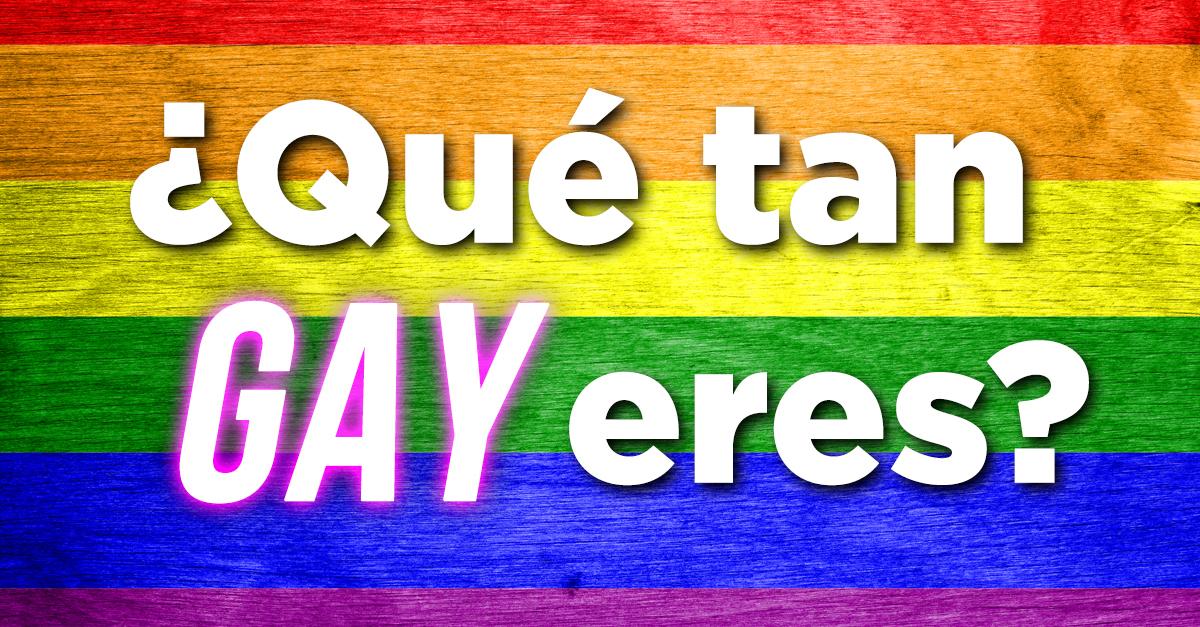 Que Tipo De Gay Eres