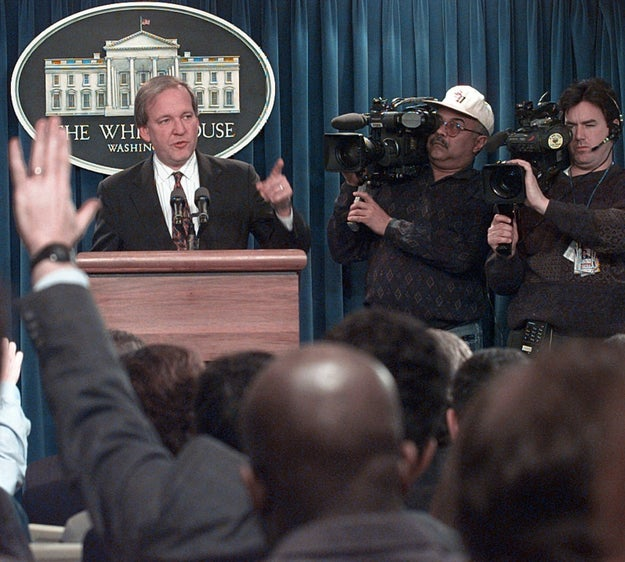 Since the rise of cable news in the 1990s, the White House has held daily televised press briefings for the public.