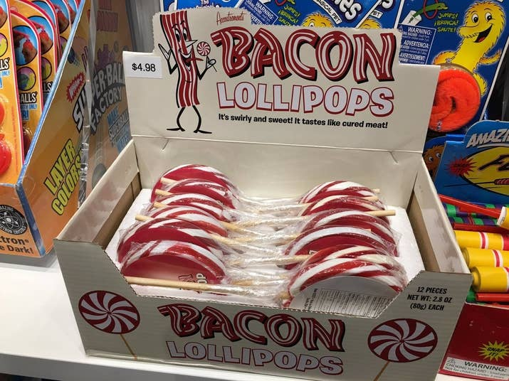 Bacon everything, apparently.