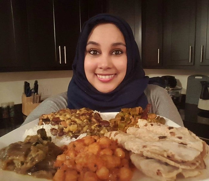 Mujawar said that while using the hashtag she came across other Muslims who are vegan, and they've created a little community that has a WhatsApp group chat. She joined Instagram to connect with other vegans, she said, and she found many other Muslims. She has now been vegan for two months, so this was her first Ramadan as a vegan.Mujawar said that after watching the documentaries Forks Over Knives and Cowspiracy she started looking into veganism and found there to be benefits.