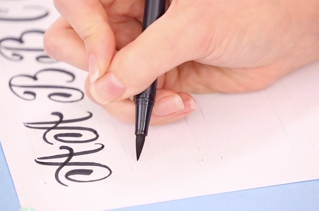 8 Tips For Anyone Who Wants To Learn Calligraphy And Hand Lettering