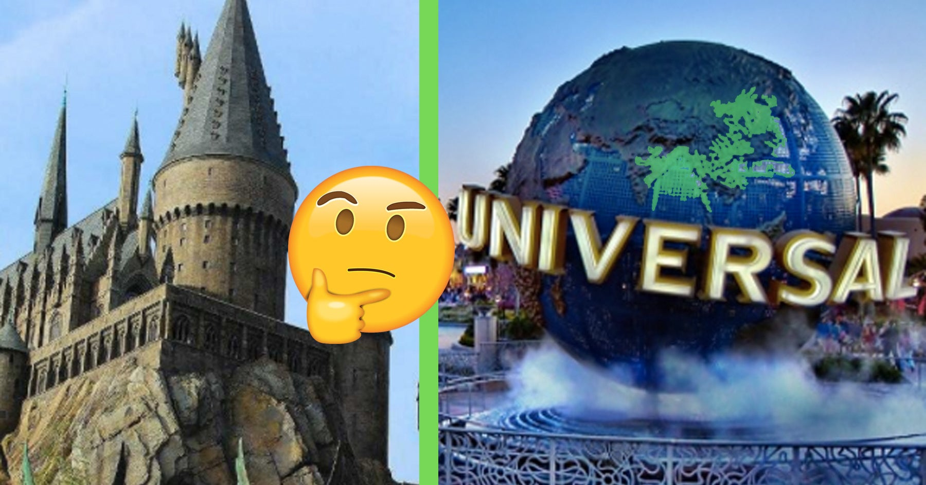 We Live In An Age Of Universal Investigation And Of: Pick 7 Rides At Universal Studios And We'll Guess Your
