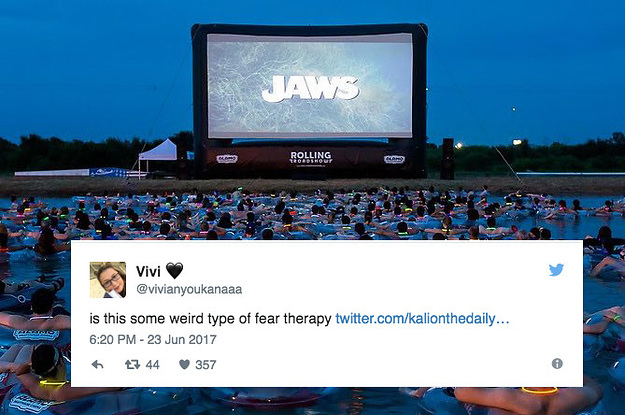 "If Someone Asked Me To Attend This Screening Of ""Jaws,"" I'd Laugh In Their Face And Run Away"
