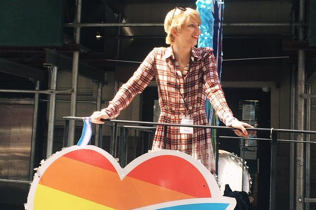 Here's Chelsea Manning Celebrating At Her First Pride Parade