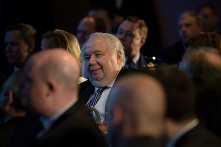 Sergey Kislyak, Russian ambassador to the US.