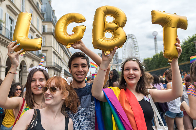 Here's How People Celebrated Pride Around The World
