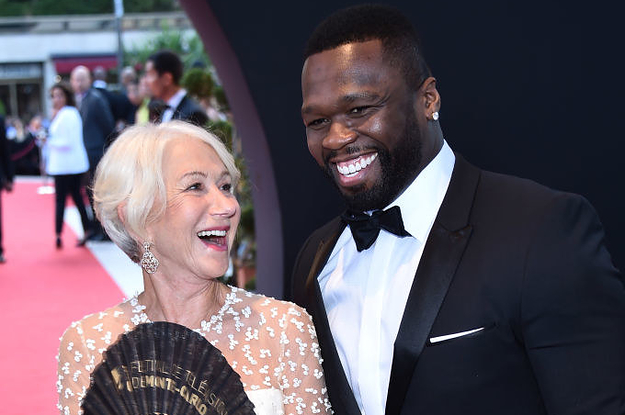 50 Cent Is In Love With Helen Mirren Because, Duh