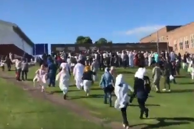 Six People Were Injured When Car A Collided With A Crowd Celebrating Eid In Newcastle