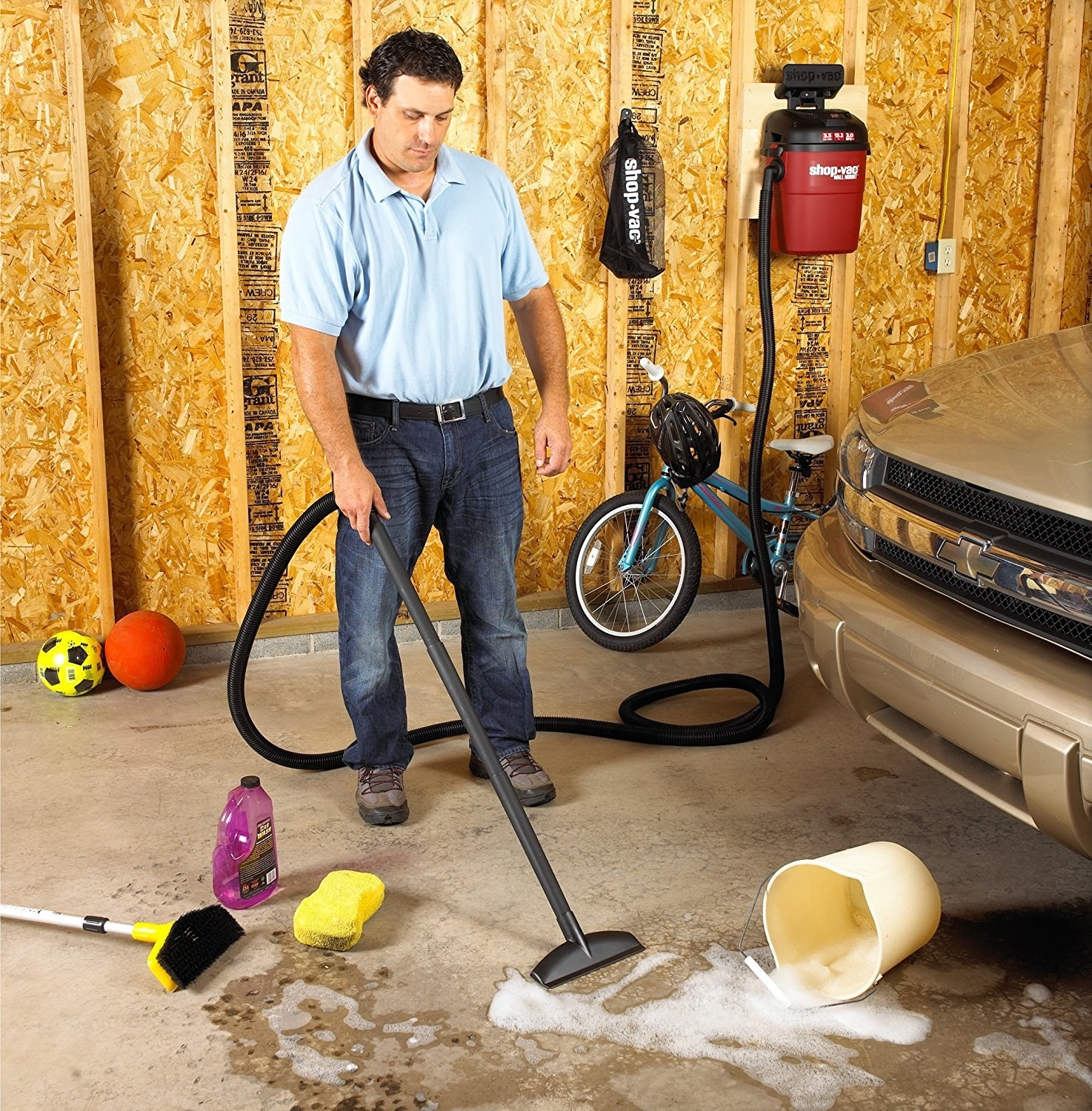 21 Ways To Make Your Mess Of A Garage So Much Better