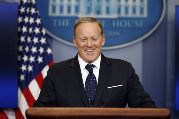 And this is all going on as the White House increasingly restricts access to the administration. Many of Sean Spicer's daily press briefings have recently been off-camera with no live audio. President Trump prefers to tweet his thoughts or yell them at campaign-style rallies. And when Trump or his aides do speak — they often make false statements or lie.
