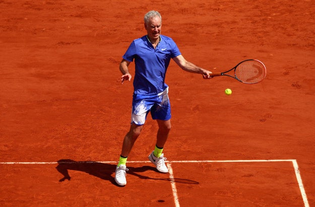 "Retired tennis star John McEnroe said if Serena Williams played on the men's circuit, she'd be ranked ""like 700 in the world."""