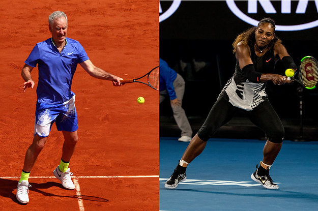 John McEnroe Said Serena Williams Would Be Ranked 700 In The World If She Played Against Men